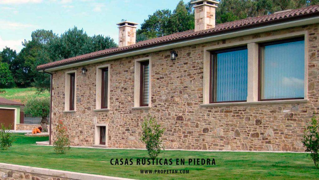 Casas r sticas en piedra natural construcciones en piedra - Casas rusticas galicia ...