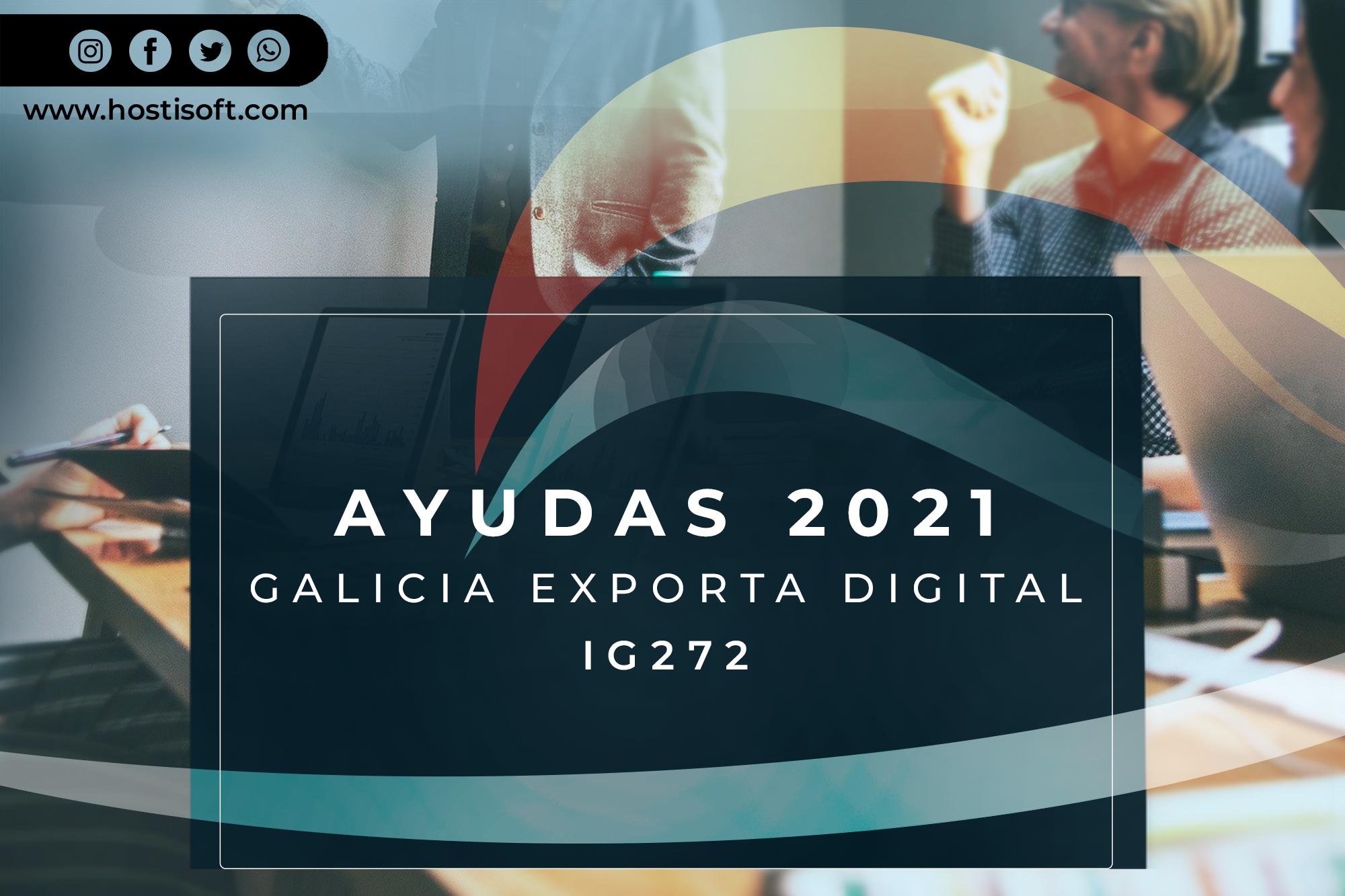 Ayudas Galicia Exporta Digital