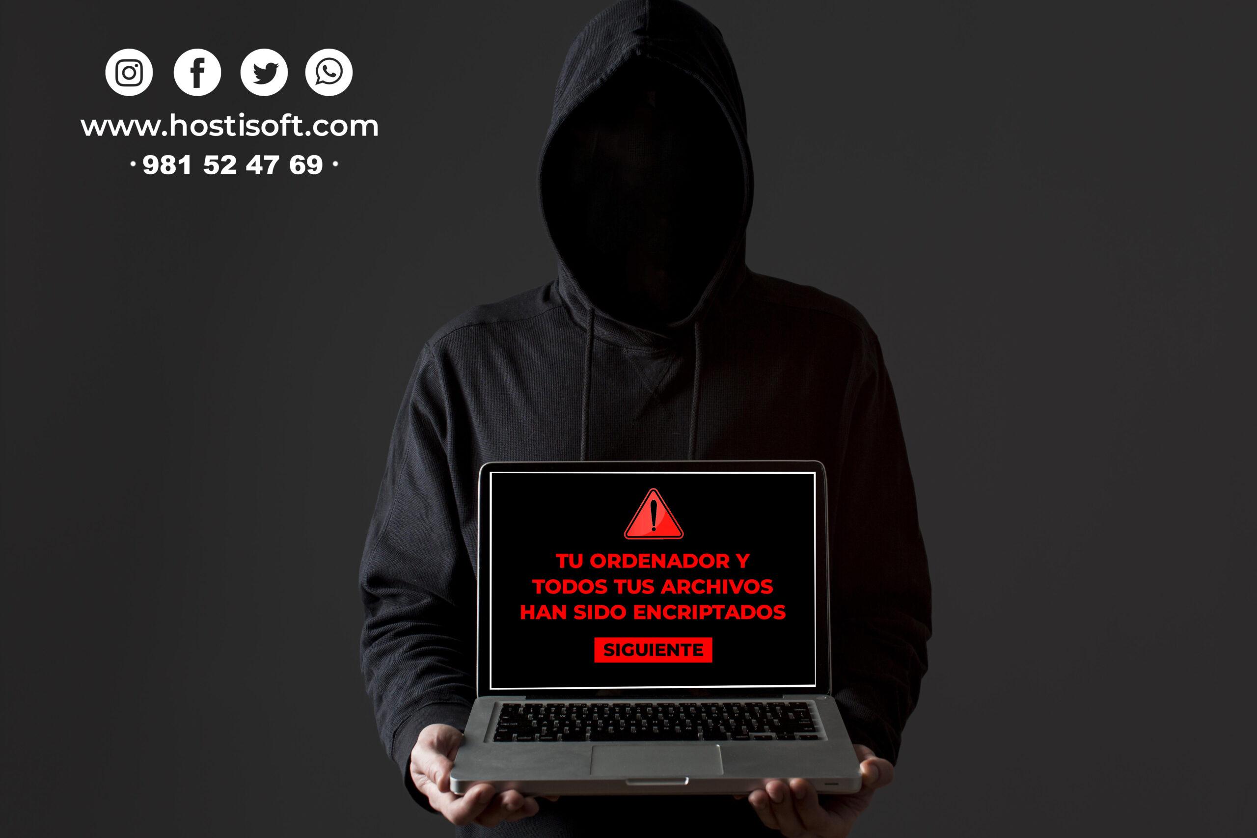 ransomware hostisoft